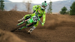Jeremy McGrath SHREDS the Coolest Track In America! #TheKing