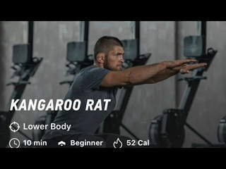 "Khabib ""Kangaroo Rat"" Workout|Khabib Nurmagomedov|The Eagle| 10 minutes  workout|Beginner|Sulaman 21"