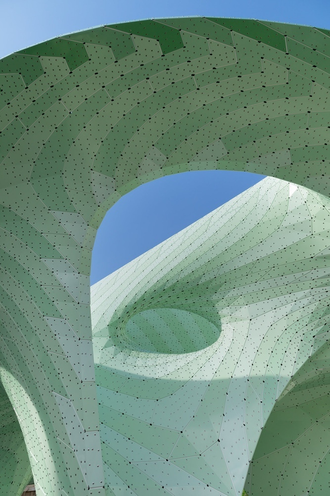 Zephyr Pavilion by MARC FORNES   THEVERYMANY
