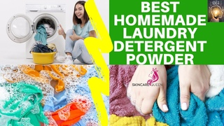 BEST HOMEMADE LAUNDRY DETERGENT POWDER (DIY LAUNDRY BOOSTER WITH RECIPE)