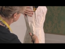 Haute couture moulage, draping at Christian Dior