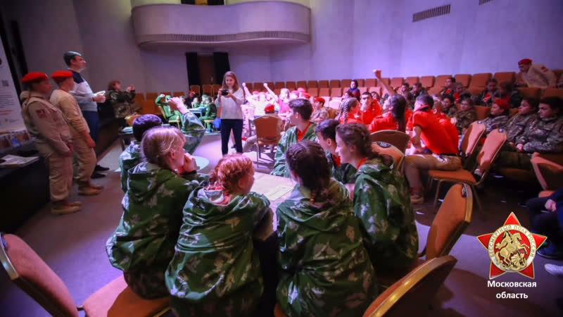 В Горках Ленинских Бессмертный полк Московской области провёл серию викторин для юнармейцев
