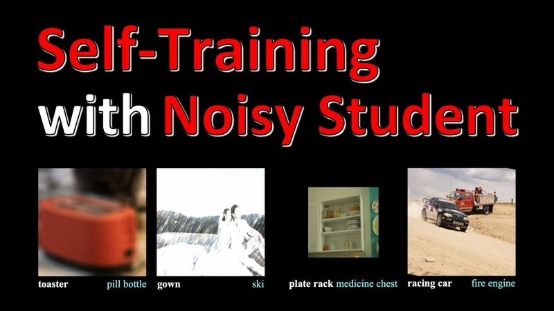 Self training with Noisy Student improves ImageNet classification Paper Explained