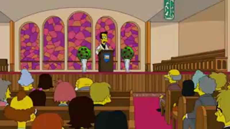 Гомер ловит покемонов в храме Симпсоны 28 сезон 20 серия mp4