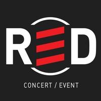 Логотип RED / клуб, концертный зал