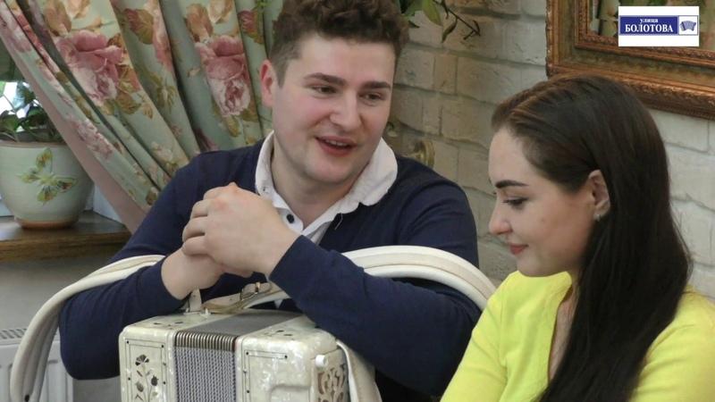 Святослав Шершуков и Марта Серебрякова на кухне талантов на улице Болотова