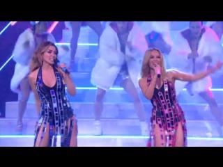 Kylie & Dannii - 100 Degrees (X Factor Australian Grand Final)