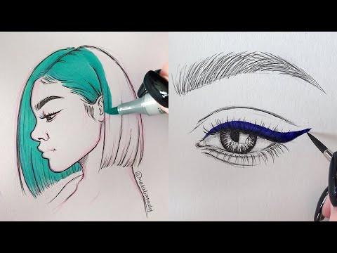 ODDLY SATISFYING ART VIDEOS 🤤😍 Part 6 Natalia Madej Compliation