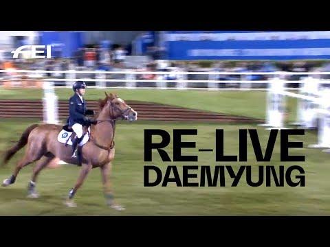RE-LIVE | Grand Prix Round 2 (145cm) | Daemyung Horse Show 2018 CSI3* | Hongcheon (South Korea)
