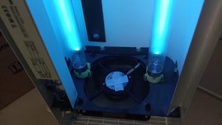 Рециркулятор УФ бактерицидный СПДС-90-Р ремонт, замена ламп, фильтра, сброс счётчика наработки часов