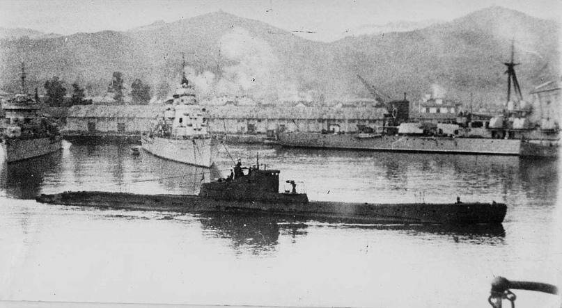 «Щ-205» - первая гвардейская подводная лодка Черноморского флота