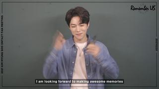 [] Сообщение к старту продаж билетов на онлайн фанмитинг Remember US (Мёнсу)