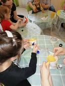 В преддверии 23 февраля, младшая группа развивашек готовила подарки дорогим мужчинам! Мы продолжаем