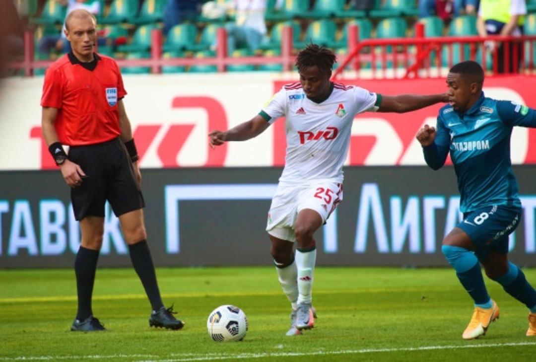 Локомотив - Зенит, 0:0. Арбитр Владимир Москалев