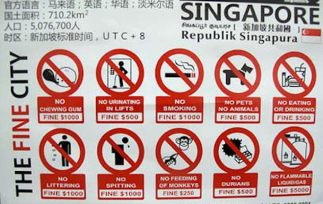 Парадоксальный Сингапур — 10 фактов о стране контрастов и удивительных традиций