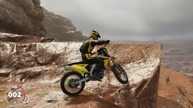 The Crew 2 Suzuki RM-Z450 2016 OFF-ROAD 450 см³ Ultra Settings USA State - Arizona Grand Canyon Open World 1080р60.