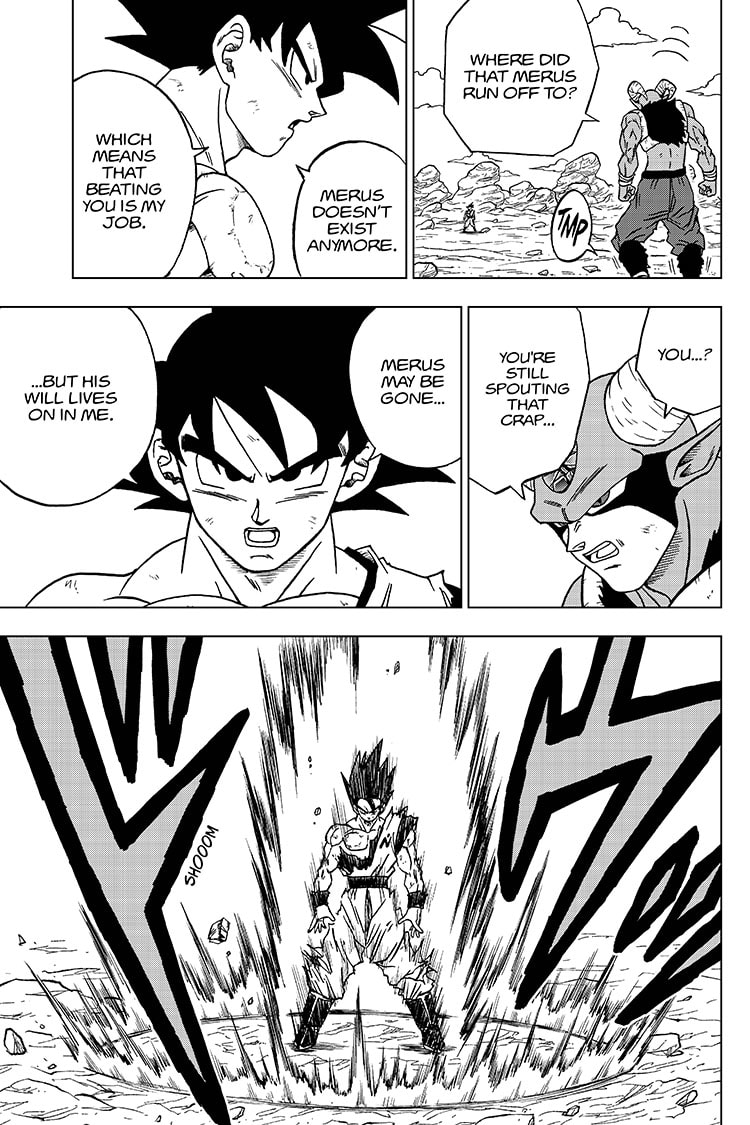 Dragon Ball Super, Chapter 64, image #7