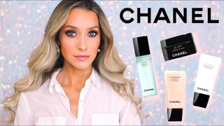 NEW CHANEL SKINCARE UNBOXING! LE GEL, LE GOMMAGE, LE MASQUE AND LE LIFT
