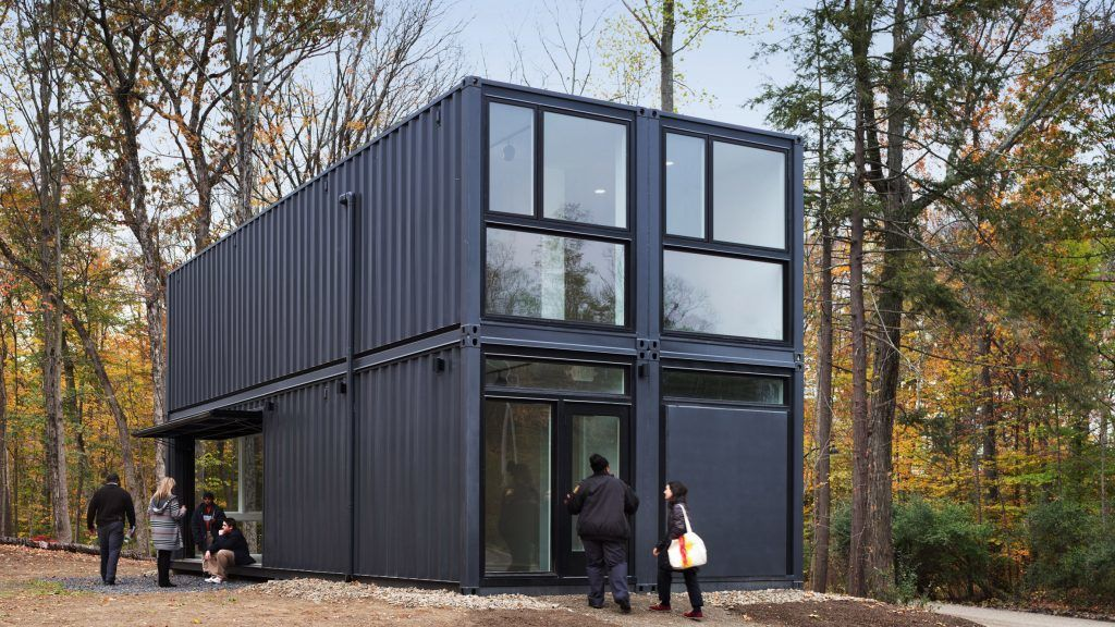 MB Architecture constructs university building from shipping containers in one day