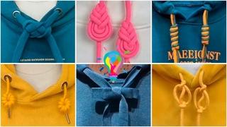 Как завязать шнурки на худи. Как красиво завязать шнурки на кофте | How to tie the laces on a hoodie