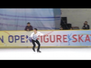 Mitsuki sumoto fs 2018 asian open trophy