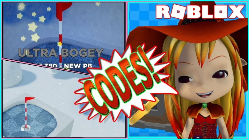 ⛳ ROBLOX SUPER GOLF ALL WORKING CODES I'M SO BAD AT GOLF