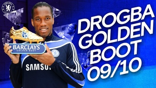 Didier Drogba's Golden Boot Winning Season | All 29 Goals | Premier League 2009/10