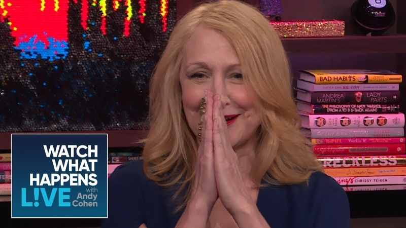 Patricia Clarkson Says Justin Timberlake Is Well Endowed | WWHL