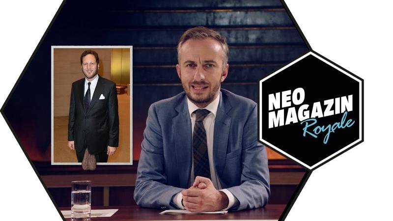 Eier aus Stahl Prinz Georg Friedrich von Preußen NEO MAGAZIN ROYALE mit Jan Böhmermann ZDFneo
