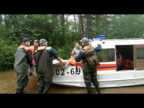 В села Ургал и Усть Ургал Верхнебуреинского района направлены спасатели МЧС России