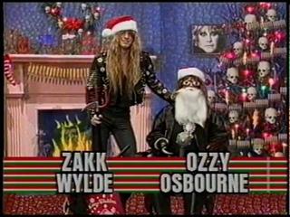 OZZY OSBOURNE -  on Headbanger's Christmas Special