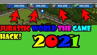 Amazing Method Jurassic World the Game Hack 2021   Get Free DNA, COINS, FOOD, CASH [Android/iOS]