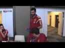 Raúl Albiol celebra con la Selección española su 29 cumpleaños