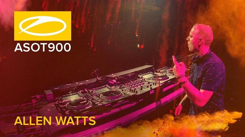 Allen Watts live at A State Of Trance 900 Jaarbeurs Utrecht The Netherlands
