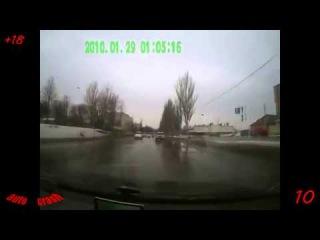 Ежедневная подборка ДТП и аварии №211 ( 10 февраля 2014 ) HD18+ Crash
