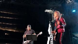 "Metallica «Группа Крови» Металлика КИНО (""Groupah krovee"" Viktor Tsoi) Moscow Luzhniki"